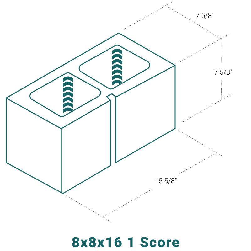 8 x 8 x 16 - 1 Score