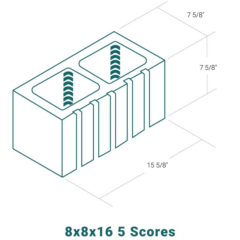 8 x 8 x 16 - 5 Scores