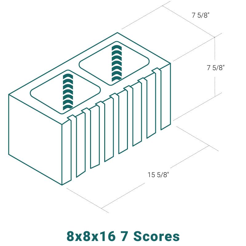 8 x 8 x 16 - 7 Scores